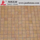 Brown bon marché Marble Mosaic Flooring Tiles pour Bathroom Floor (JL-201401)