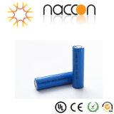 batteria di litio 2200mAh della batteria 18650 dello Li-ione