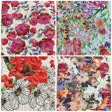 Lacet de broderie avec l'impression de fleur l'autres modèle et couleur