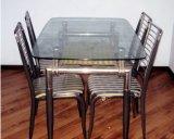 Ce/CCC (JINBO)の緩和されたガラスのダイニングテーブル