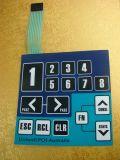 Interruptor de membrana personalizado para o instrumento médico