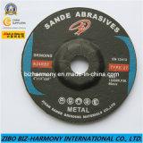 Le métal pour la construction de roue de meulage, soudage métallique