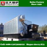 高性能の鎖の火格子繊維工業のための4トンの蒸気ボイラ