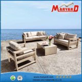 紫外線Resistance Rattan Outdoor Furniture 3PCS Selectional Sofa Set