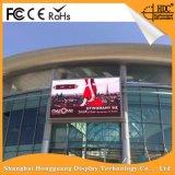 Cartelera al aire libre a todo color de Digitaces del mensaje de la visualización de la muestra de P6 LED para hacer publicidad