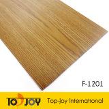 F-1201 novo estilo de madeira no interior do piso de PVC de Grãos