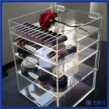 2016 Chine Fabricant Custom Clear Acrylic Makeup Box