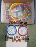 Fachmann Soem Manufacturer von CT-536 G F Brass Manifold Gauge Set Double Gauge Manifold Set Air Conditioner Parts Refrigeration Parts Refrigeration Tools