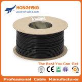 75ohms Câble coaxial RG6 dans la Base de câble Lin/une