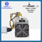 Bitmain Antminer L3+ 504 Inclued PSU Mh/SおよびL3++ 580mh/S Litecoin抗夫---自由なShiping