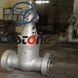 API ANSI Литые стальные герметичное уплотнение 1500 фнт RF запорный клапан