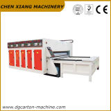 La stampante Semi-Automatica Slotter del cartone di 2 colori e muore la taglierina