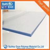 Жесткий прозрачный лист толщиной 1 мм из ПВХ для горячей или холодной гибки изгиба