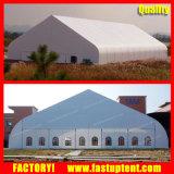 Curva de PVC aluminio carpa carpa para evento 500 personas plazas Guest