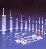 Medizinische Wegwerfspritze verschiedene Größen mit Cer u. ISO