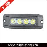 """La CC 12V IP67 impermeabilizza 5 """" 12W indicatori luminosi di riserva a livello del supporto LED"""