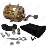 Los cojinetes de bolas de acero inoxidable potente bobina de aluminio Big Game Trolling carretes de pesca en mar 02e-TG9000