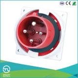 Imprägniernder Panel-Mounted männlicher Stecker für elektrische industrielle Stecker-Kontaktbuchse-elektrischen Verbinder