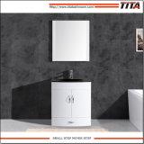 Económico Superior de cristal templado de cuarto de baño TM8130-30W