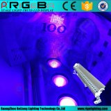 Indicatore luminoso UV della rondella della parete di colore LED di IP65 27*3W con