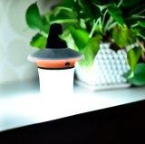 小さい太陽動きセンサー夜懐中電燈のトーチ赤外線LEDのキャンプライト