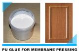Het goede Gebaseerde Membraan dat van het Water van de Machine van de Hittebestendigheid VacuümPolyurethaan Koude Zelfklevende Lijm drukt