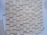 Beige Mischmosaik-Fliesen für Wand-und Fußboden-Dekoration