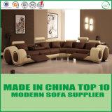 Современная комфортабельная гостиница циркуляр диванами вид в разрезе кожаный диван с откидной спинкой