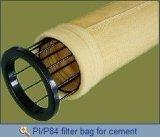 Sacchetto filtro a temperatura elevata di Kft per la pianta del cemento di Baghouse/