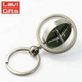 熱い販売の顧客用二重味方されたトラの昇華金属Keychain