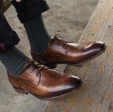 Trabajo cargos formales Zapatos Zapatos de Vestir de cuero auténtico italiano