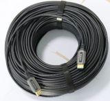HDMI 2.0 4 K de fibra óptica a 100 metros de cable HDMI
