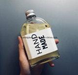 Neuer Entwurfs-Wholesale Glassaft-Kaffee-Milchflasche-freie Proben