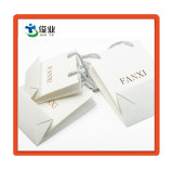 Custom white бумажный мешок с золотом горячей штамповки