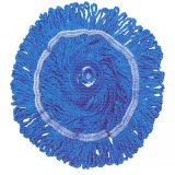 Tête de balai en coton avec douille en plastique
