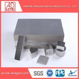 Los materiales de construcción de núcleo en forma de panal de aluminio para revestimiento de pared