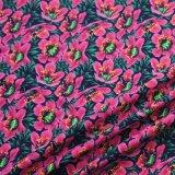 Impression de la soie personnalisé Lycra 8 Polyamides 92 Fleur tissu imprimé sous-vêtements pour femmes