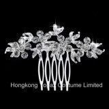Blingのラインストーンによってカスタマイズされる水晶ヘアピン水晶ヘアピン花嫁の結婚式のヘアピン(EH-01)