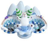 Cheer Snow-Themed d'attractions du parc de l'eau gonflable