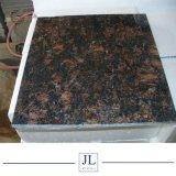 自然で安い磨かれたインドのブラウンタンブラウン/タイルのカウンタートップのためのコーヒーブラウン珊瑚のブラウンの花こう岩