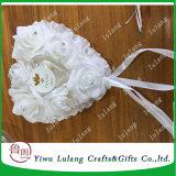 Cuadro de anillo de boda Fotografía Anillo Props almohada con perlas