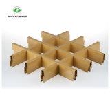 Grille à grain du bois d'aluminium métallique plafond à cellules ouvertes avec la norme ISO9001