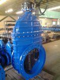 DIN DIN33523202 F5 en fonte ductile Vanne assis résilient à embase