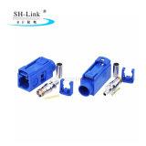 Cercle bleu connecteurs automobile Fakra pour RG174/RG316, connecteur pour antenne GPS