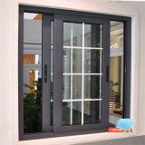 싼 가격 Foshan 제조 집은 알루미늄 금속 프레임 두 배 유리에 의하여 윤이 난 태풍 충격 미닫이 문 및 Windows 디자인을 사용했다