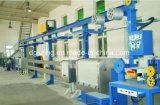 Linha de produção máquina do cabo elétrico da extrusão de cabo para o cabo de nylon