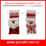 Regalo di natale della decorazione di natale (ZY14Y302-1-2-3) che immagazzina il prodotto Handmade dell'elemento del calzino