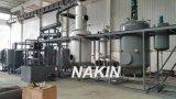 10 tonnellate per raffineria sintetica di rigenerazione dell'olio del nero di giorno a nuovo olio basso