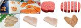 Slicer da carne da galinha com classificação do sistema