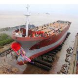 造船所の重量物運搬を支えるために容器またははしけまたは船ののゴム製気球の引きのための浮力の海難救助の海洋のエアバッグ進水および乾燥したドッキング